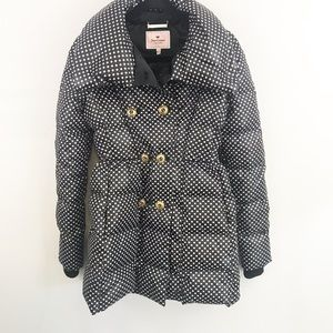 Juicy Couture Double Breasted Puffer Coat